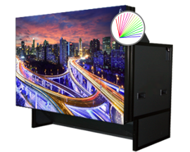 Laser Rear Projection Video Wall