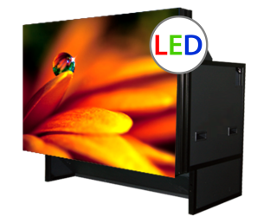 LED Rear Projection Video Wall